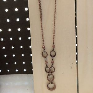 2 piece necklace and matching earring set.